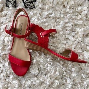 "Red Sandal Julianne Hough for Sole Society ""Robyn"""